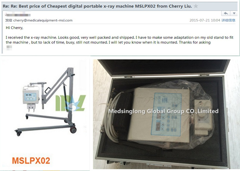 cheap X ray machine MSLPX02 Praises From Clients