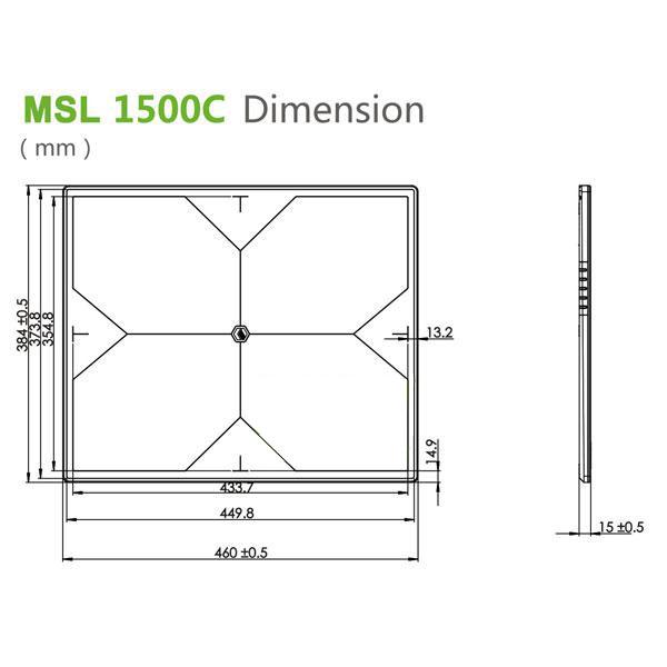 MSL x ray detector MSL1500C