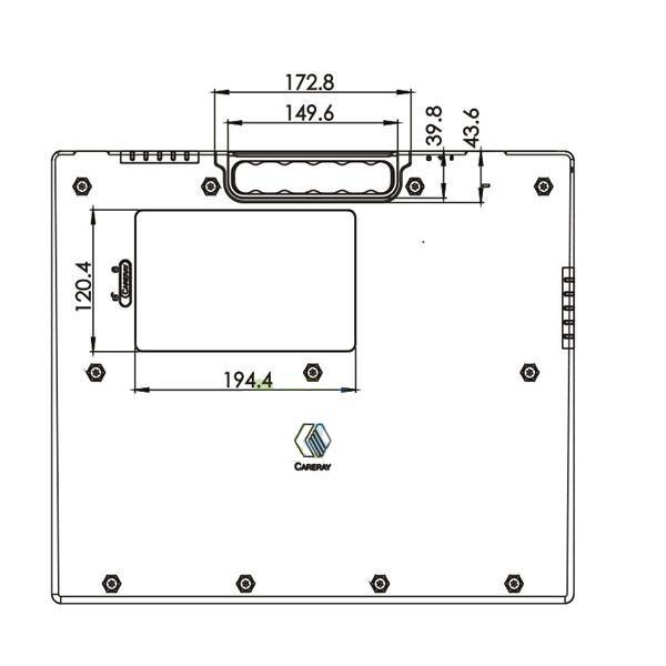 MSL Wireless flat panel x ray detector MSL1500C