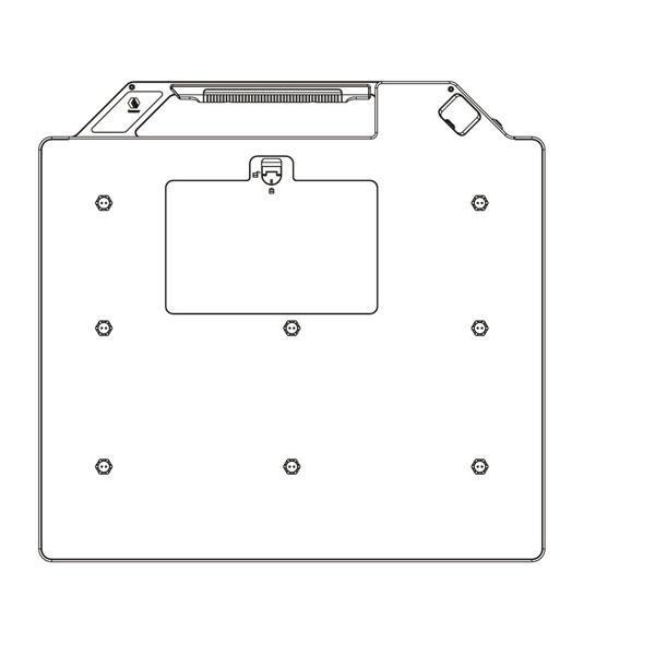 MSL Wireless radiation x ray detector MSL1500P