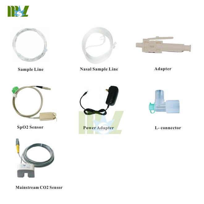 cheap Handhold ETCO2 & SPO2 Monitor MSLMP05