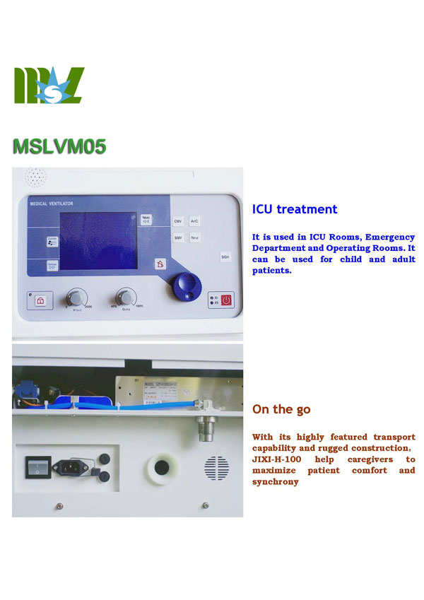cheap ventilator machine VM05 for sale