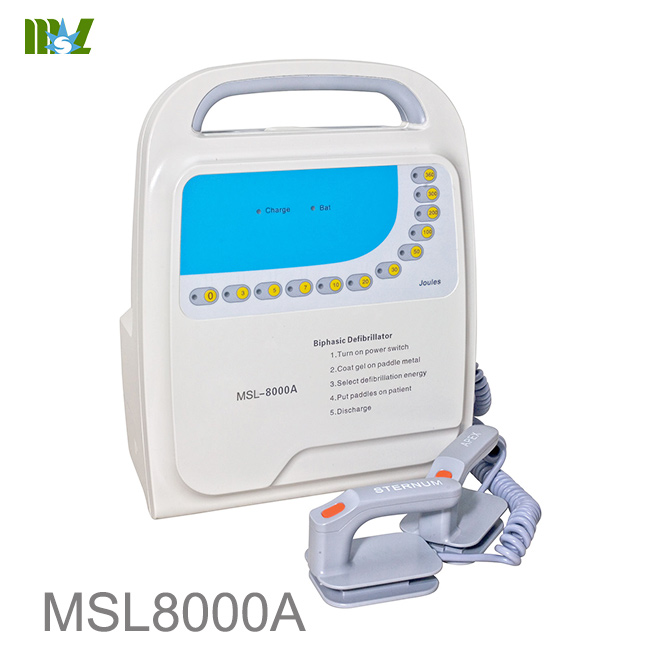 MSL Cheap defibrillator MSL8000A for sale