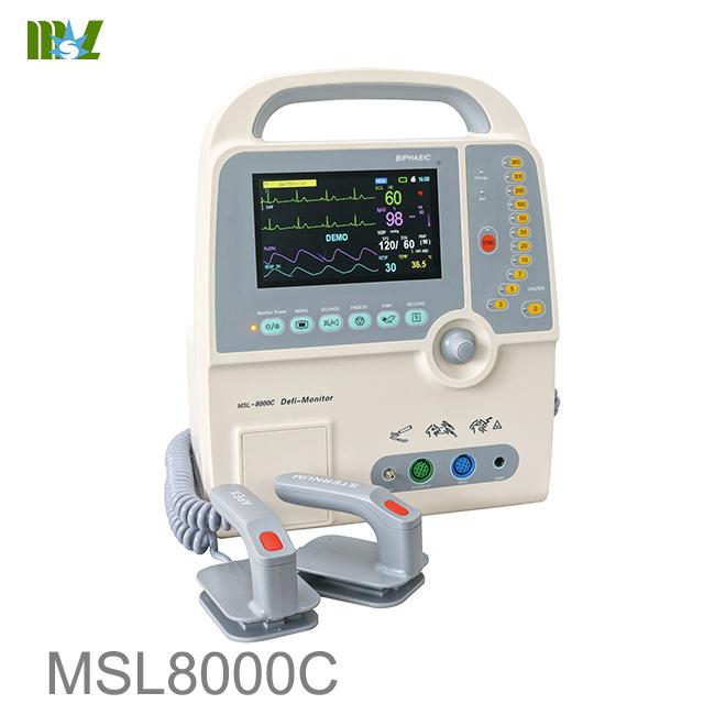 New defibrillator MSL8000C for sale
