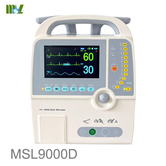 Advanced defibrillator MSL9000D