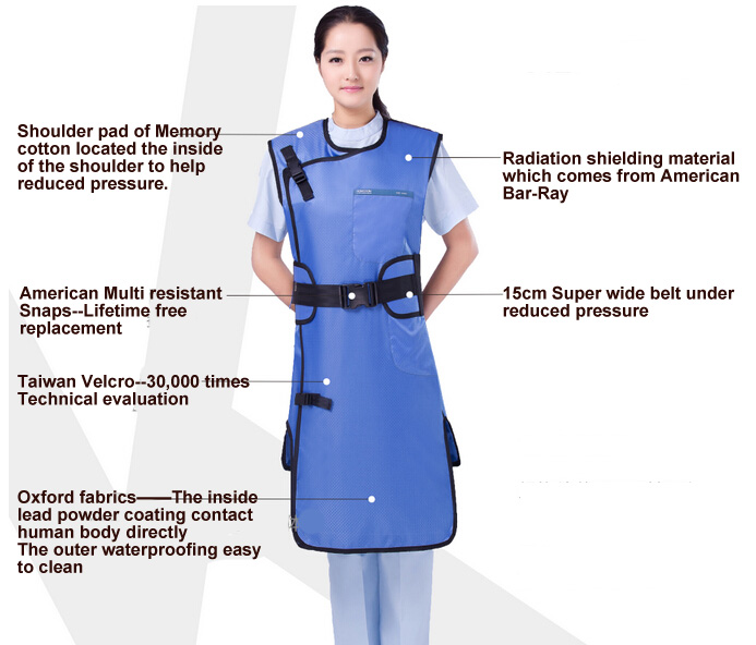 Lead Radiation Protection Aprons MSL001