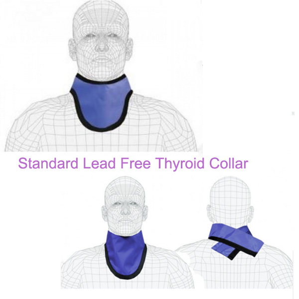 Standard Lead Free Thyroid Collar