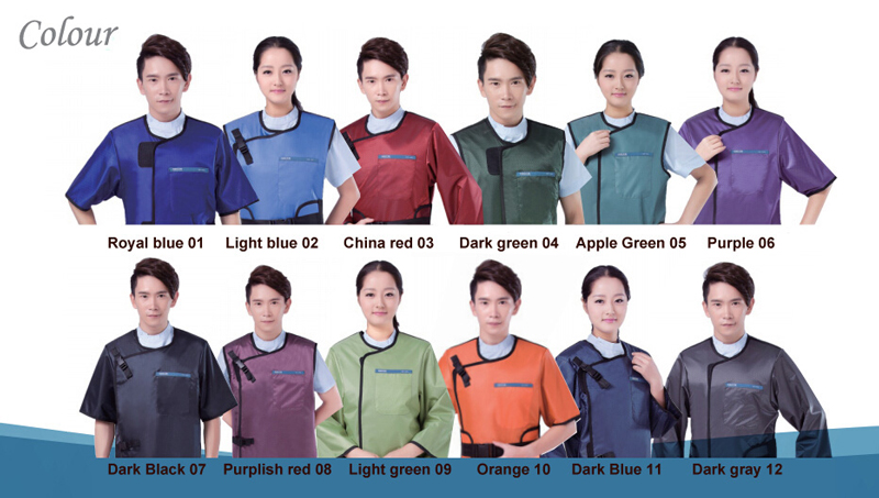 X-ray Aprons choose color