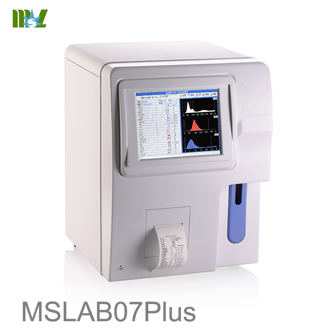 MSL advanced Hematology Blood Analyzers MSLAB07plus