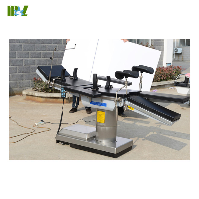 Electric hydraulic operating table MSLET05 for sale