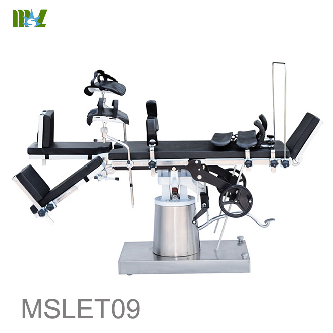 cheap Multifunctional manual operating table MSLET09