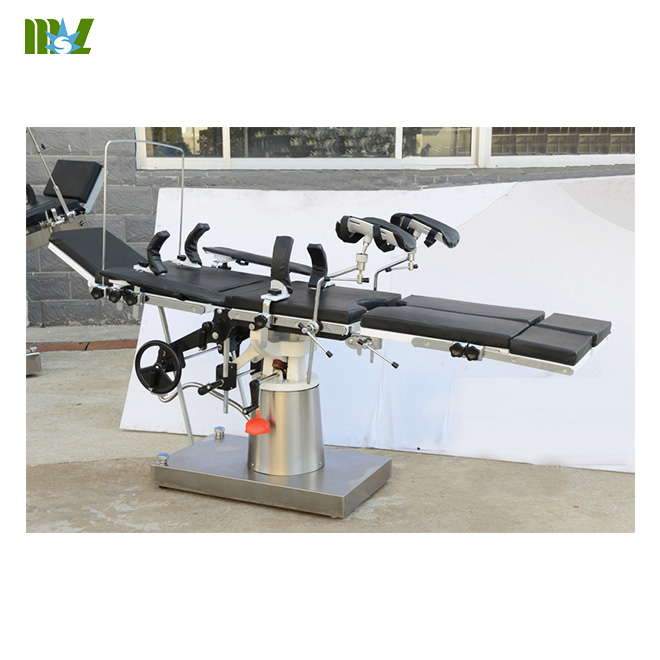 MSL Multifunctional manual operating table MSLET09
