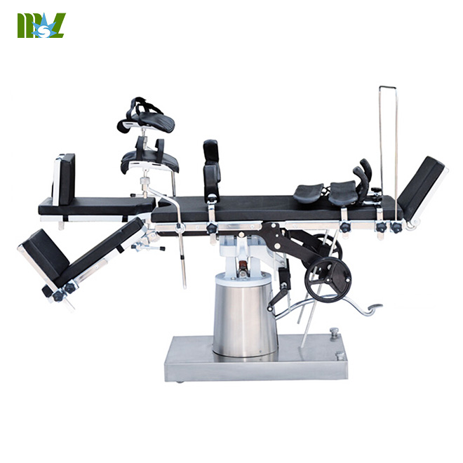 Multifunctional manual operating table MSLET09