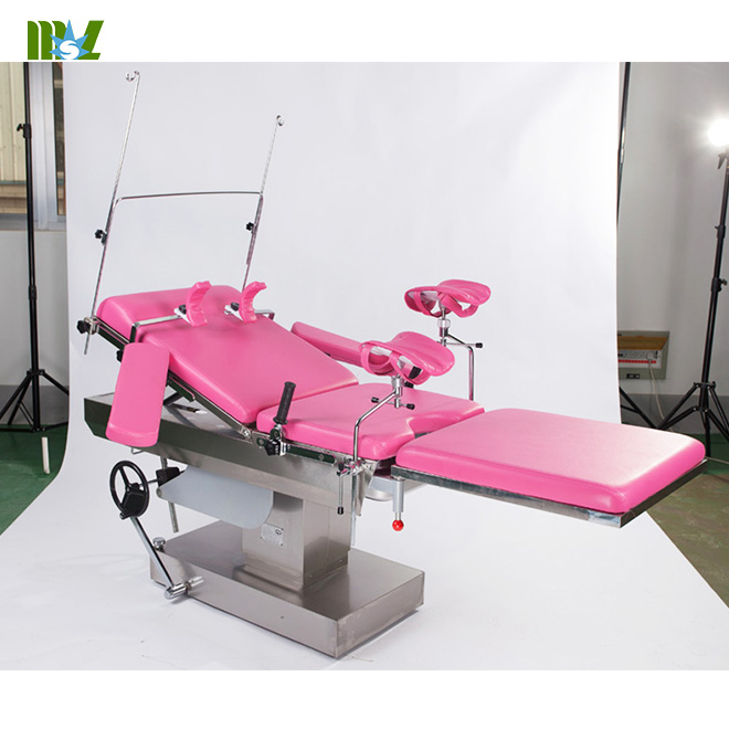 Electric obstetric bed hospital obstetric labour table MSLET12 for sale