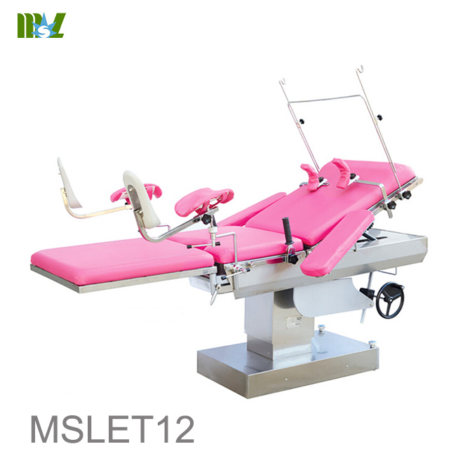 use Electric obstetric bed hospital obstetric labour table MSLET12