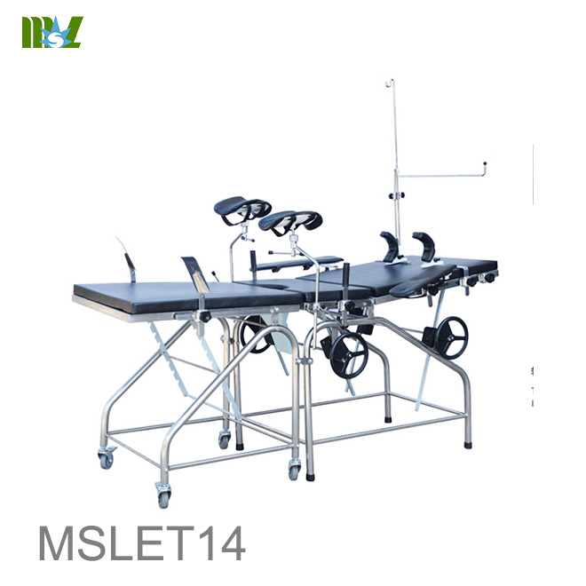cheap Ordinary Delivery Bed for Gynecological MSLET14
