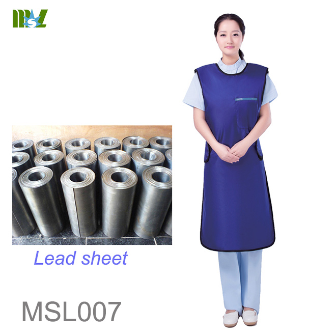 lead free apron x ray protection