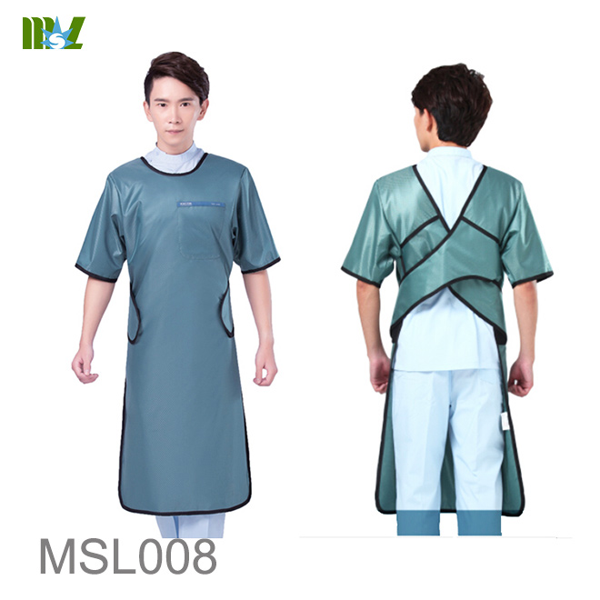 lead free Long sleeve aprons