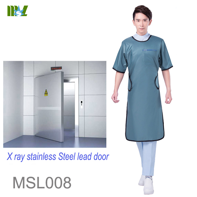 lead-free Long sleeve aprons radiation protection