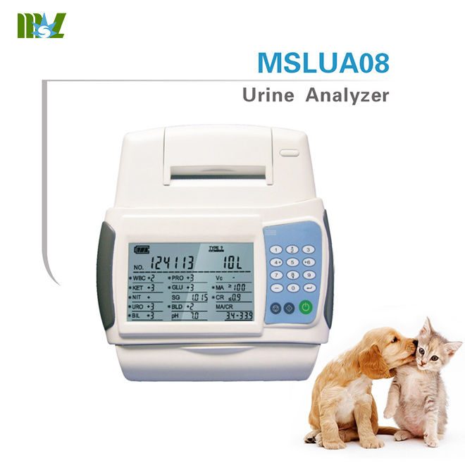 Laboratory veterinary urinalysis analyzer MSLUA08
