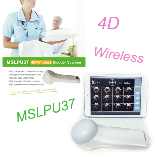 4D wireless bladder scanner MSLPU37