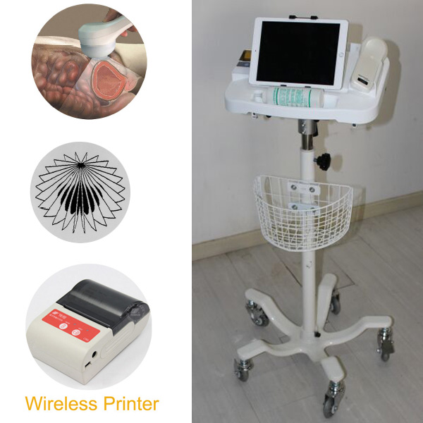 4D Wireless Probe Bladder Ultrasound Scanner supporting Android