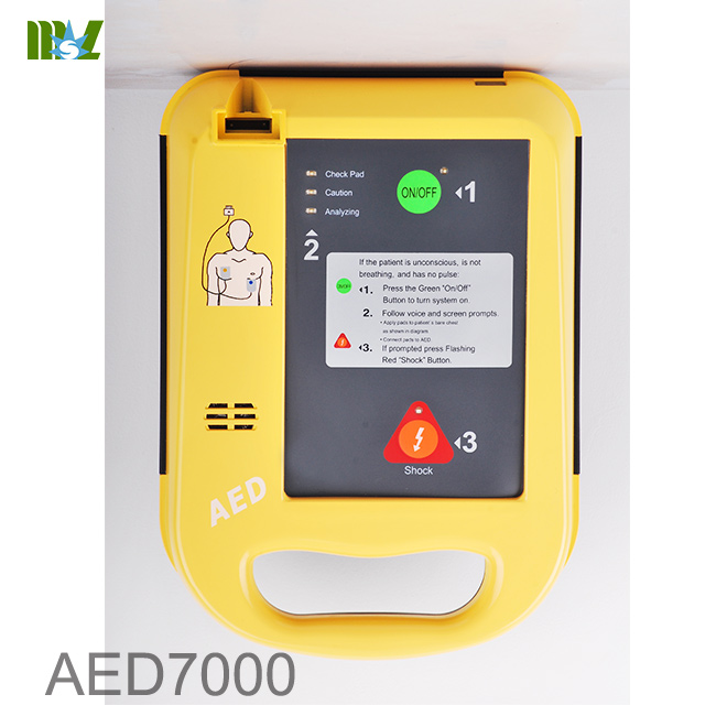 automatic external defibrillator cost