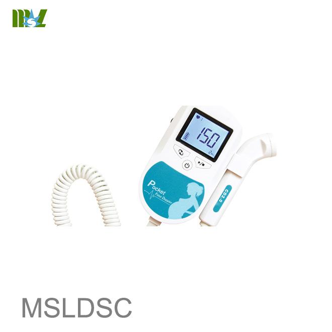 cheap Sonoline C Professional Handheld fetal doppler fetal heart MSLDSC