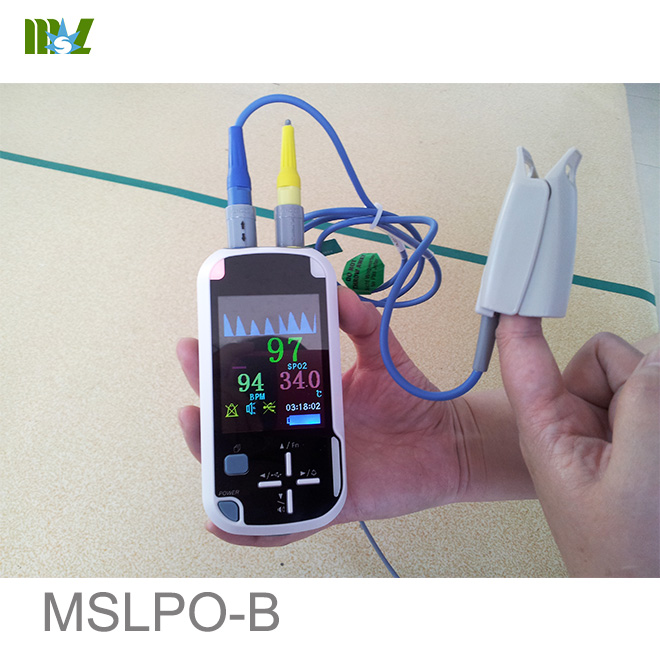 advanced Handheld Pulse Oximeter with Bluetooth wireless Funciton MSLPO-B
