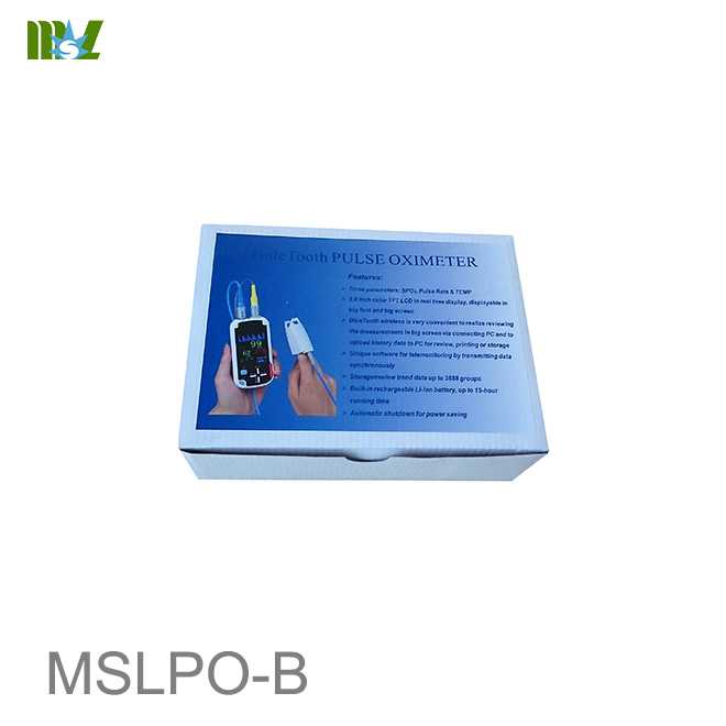 new Handheld Pulse Oximeter with Bluetooth wireless Funciton MSLPO-B
