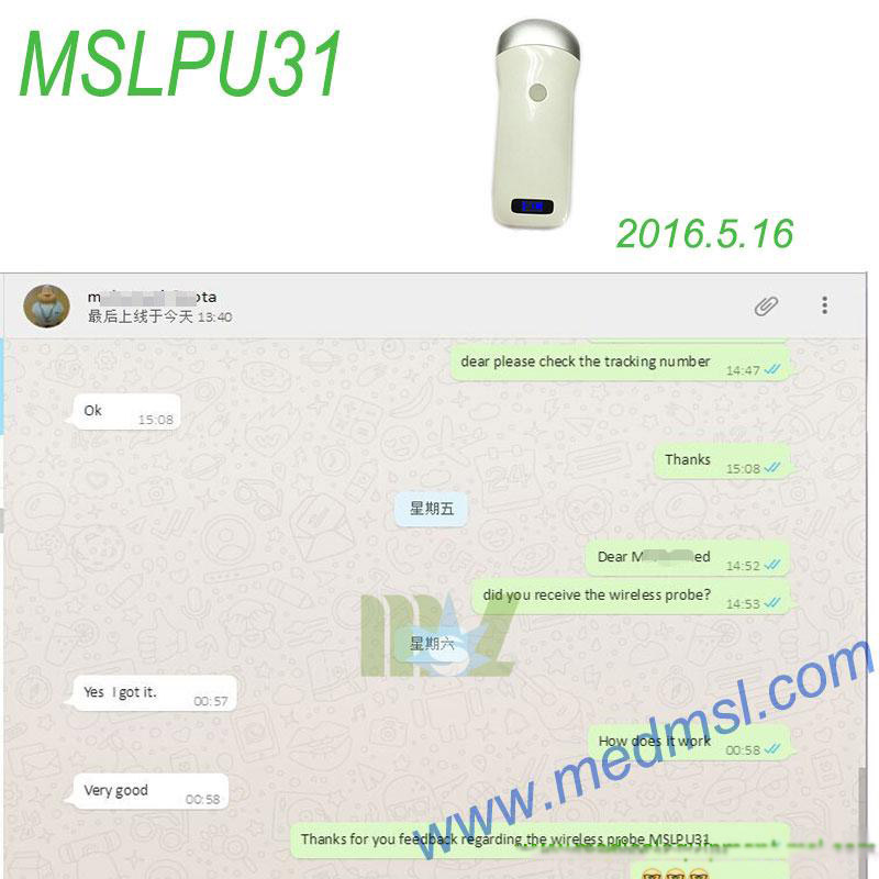good wireless ultrasound MSLPU31