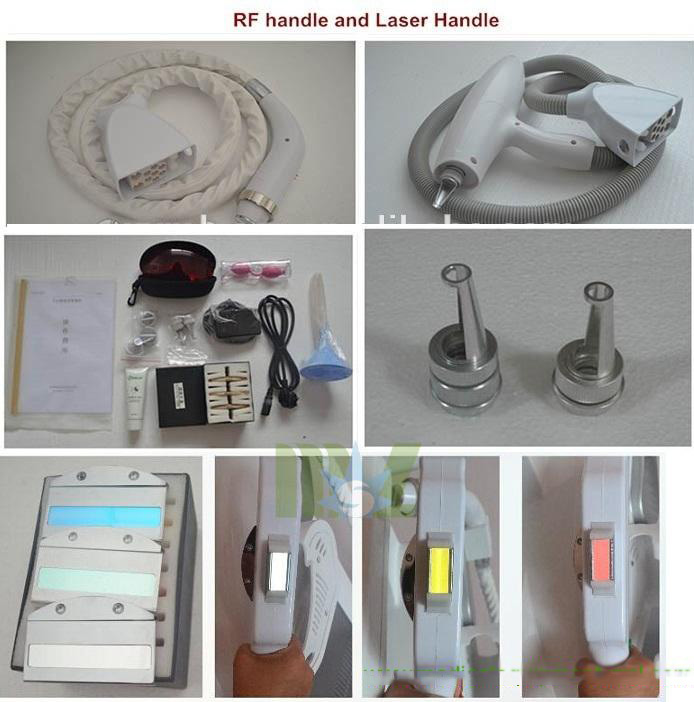Cheap generation & Stable quality MSLOL01 4 in 1 OPT Elight ipl hair removal machine