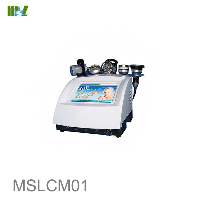 Cheap Strong sound wave fat system home use body machine MSLCM01