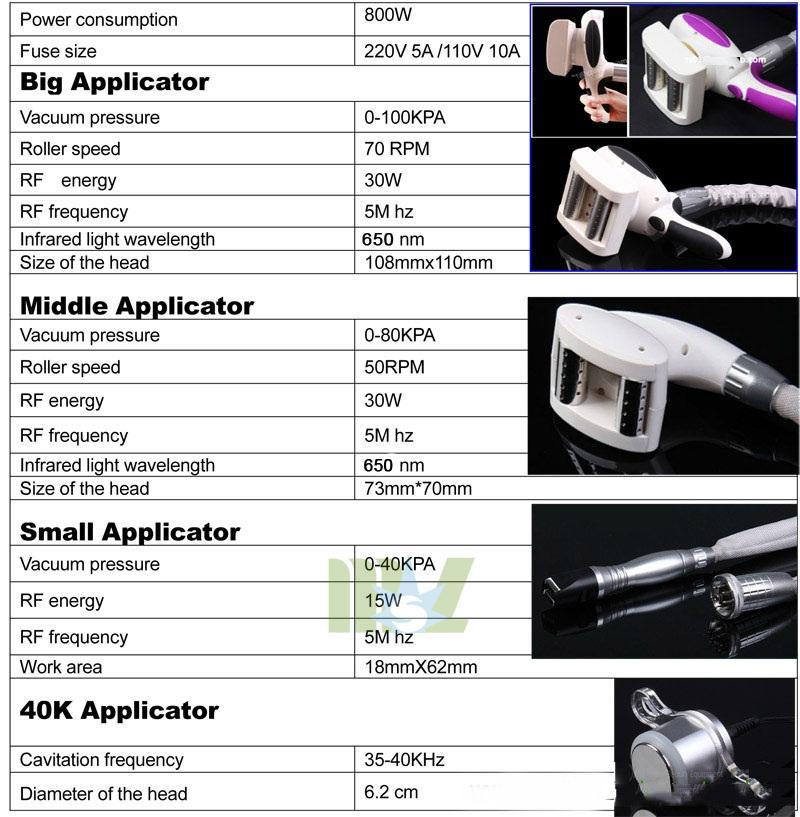 Use Slimming system roller velashape machine MSLVS02 for sale