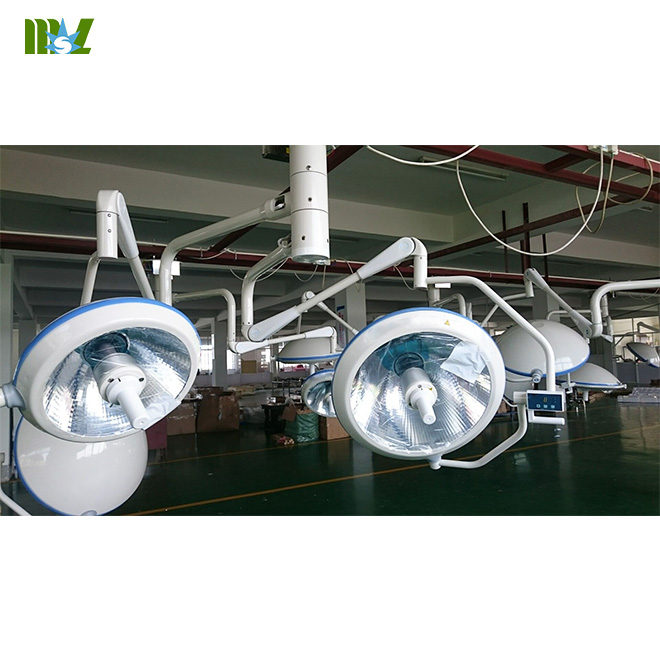 Portable operating shadowless lamp MSLSL02