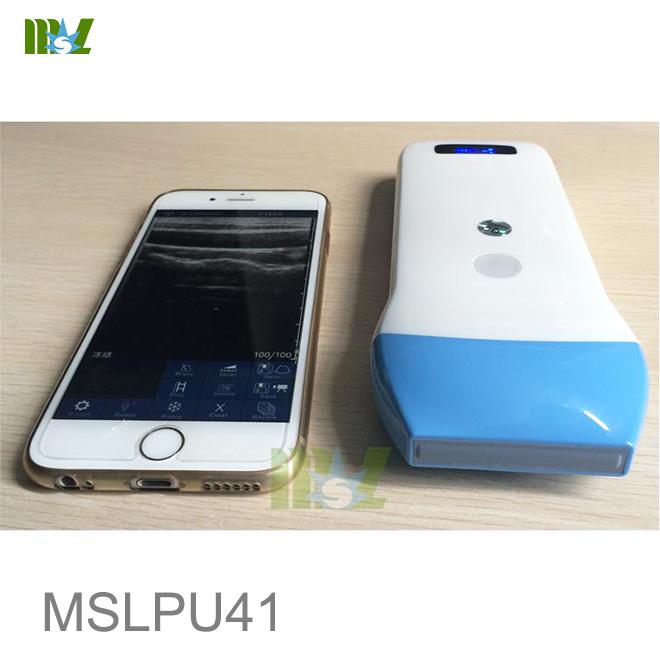 Wireless USG 128 Element Ultrasound Scan linear Probe MSLPU41