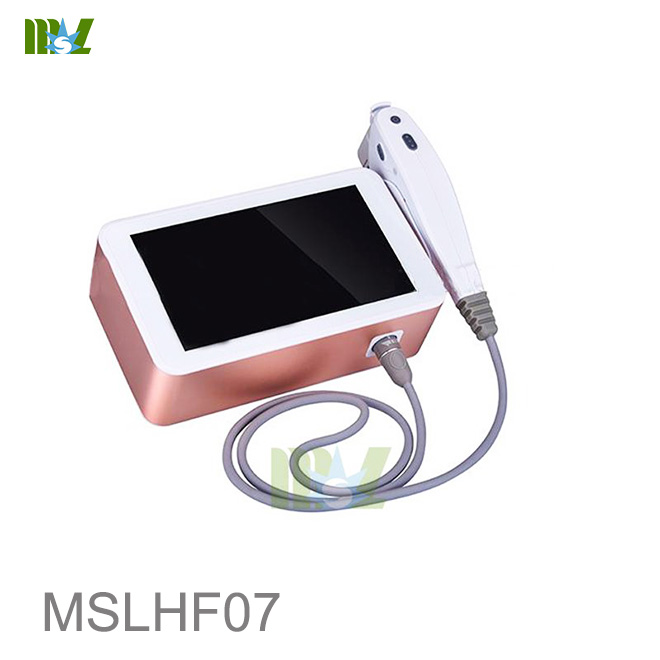 2017 new Arrival Body Face Skin Tightening Hifu Face Lift Mslhf07