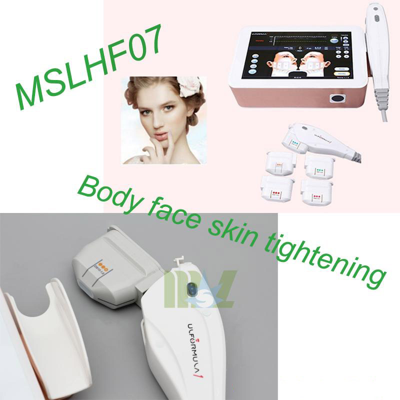 Body Face Skin Tightening Hifu Face Lift Mslhf07