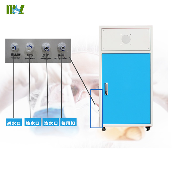 New Cheap energy saving ultra pure water machine MSL50L