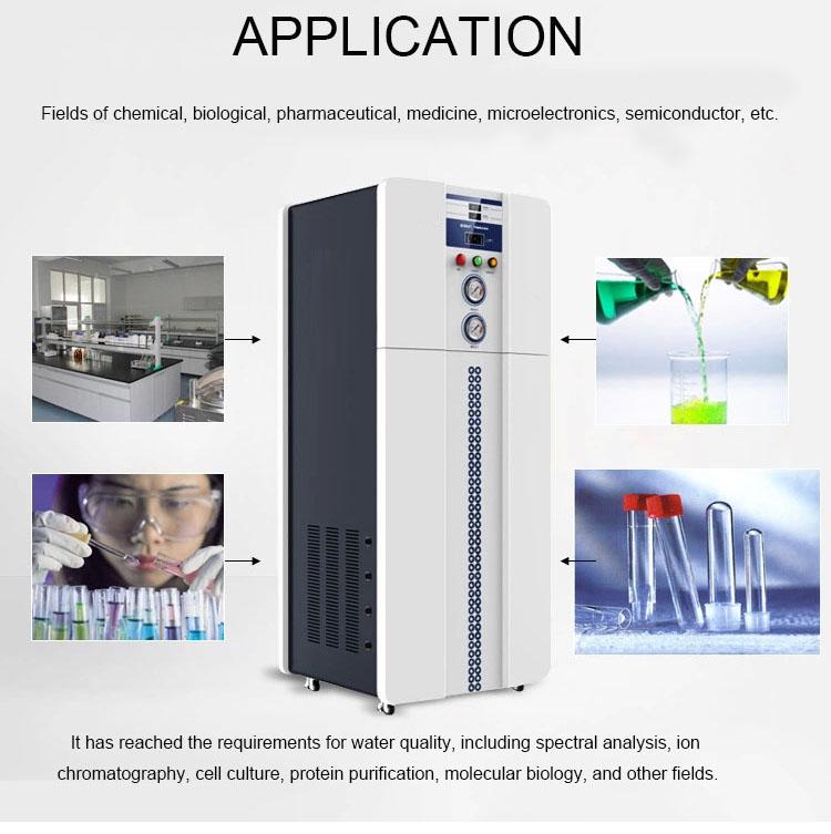 Use Ultra purified water machine MSL100L