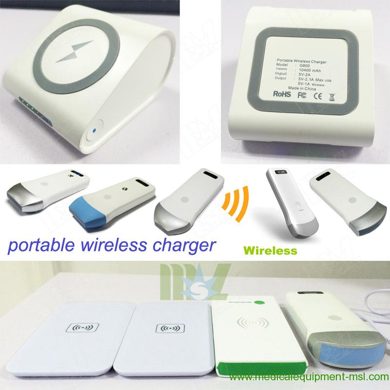 MSL portable wiredlees ultrasound machine charging