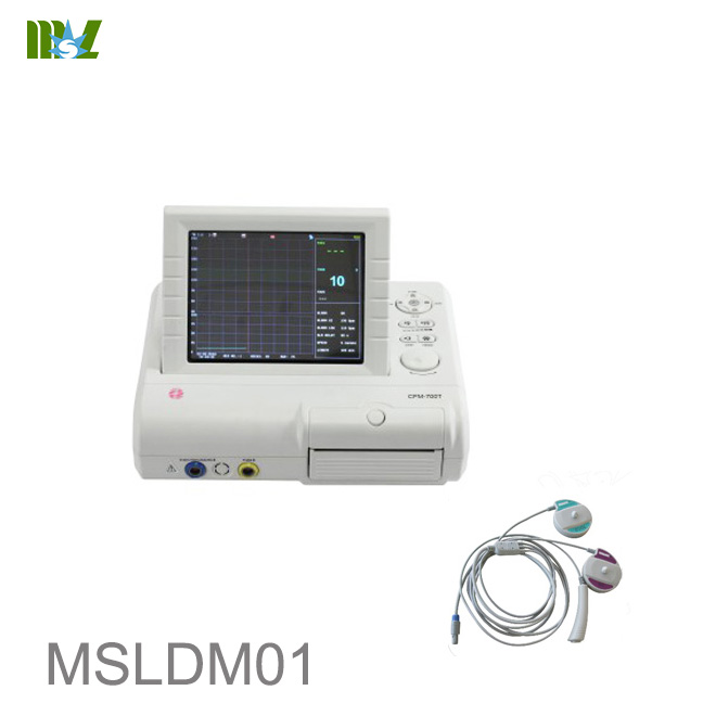 Single fetal monitor with CE approved MSLDM01