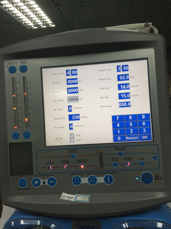 MSL hemodialysis machine MSLHM02