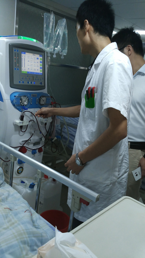 Cheap hemodialysis machine MSLHM02