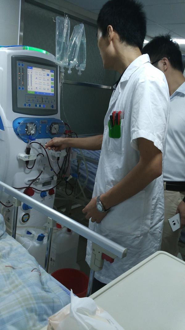 Cheap hemodialysis machine MSLHM02