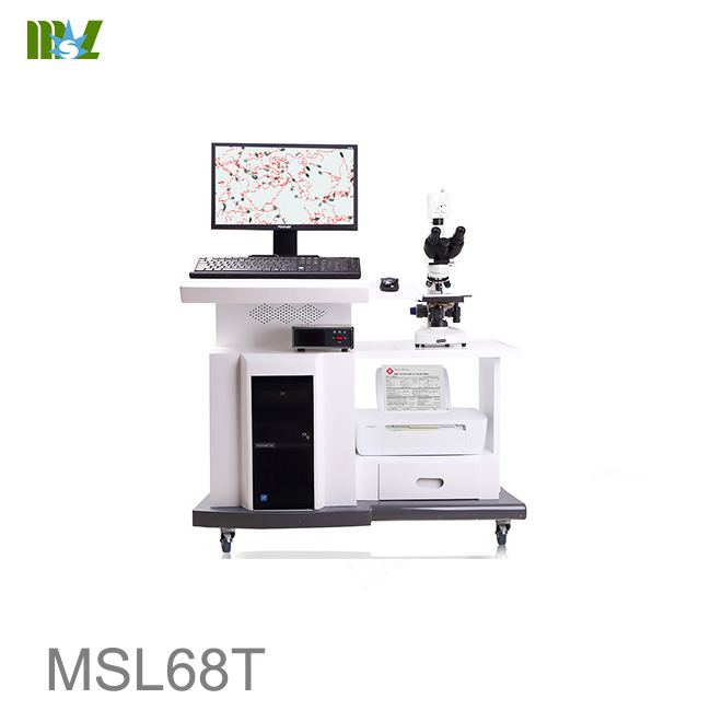 Professional Veterinary Sperm Analyzer MSL68T