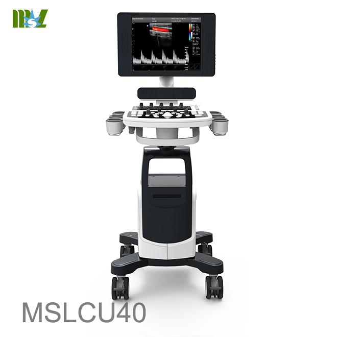Professional color doppler system MSLCU40