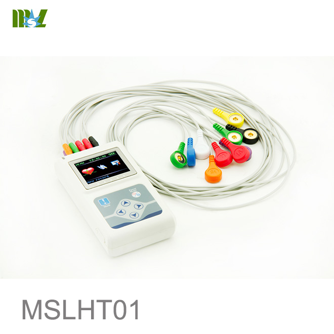 design Dynamic 12-lead ECG System MSLHT01