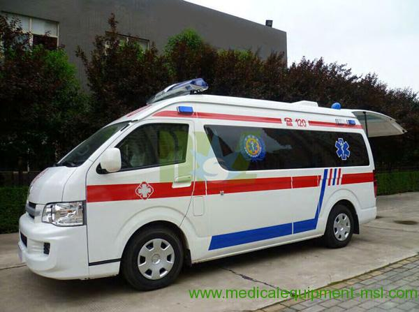 New Manual Hot Ambulance MSLJH4