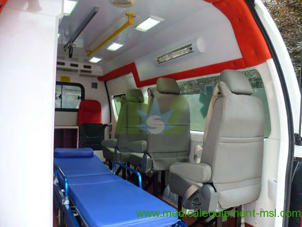 Quality New Manual Hot Ambulance MSLJH4